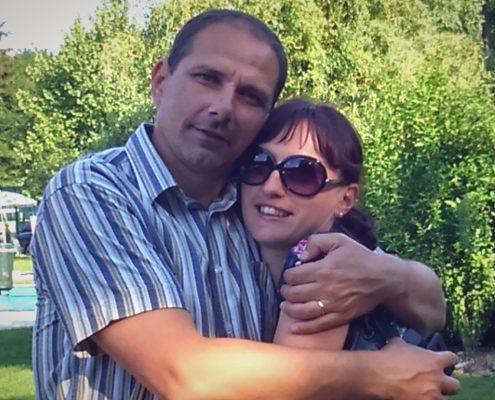 Simon in Mihaela Laci
