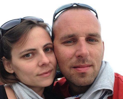 Bojan in Sandra Vereš